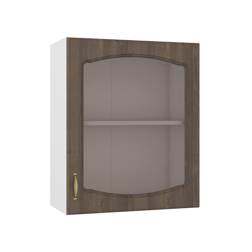 Шкаф навесной 600 витрина
